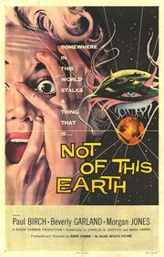 1957 - Not of This Earth Movie Poster