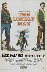 1957 - The Lonely Man Movie Poster