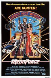 1982 - Megaforce Movie Poster