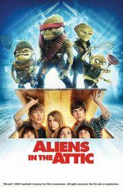 Aliens in the attic 2009 3364 poster