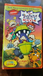 The Rugrats Movie 1999 VHS