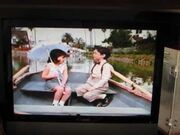 Alfalfa and Darla from The Little Rascals Theatrical Teaser Trailer