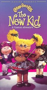 Cabbage patch kids the new kid paramount vhs