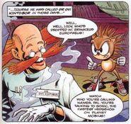 Sonic and Dr. Kintobor