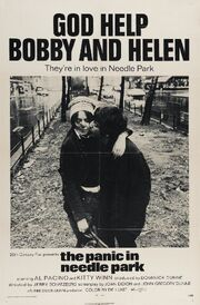 1971 - The Panic in Needle Park Movie Poster