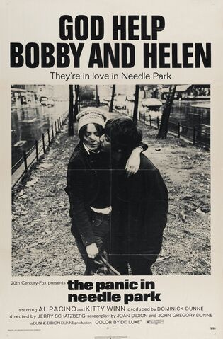 File:1971 - The Panic in Needle Park Movie Poster.jpg