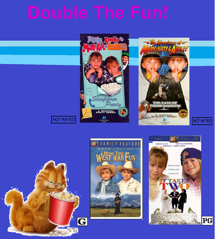 File:Garfield, The Movie, Mary-Kate And Ashley Videos, Double The Fun.png