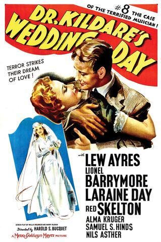 File:1941 - Dr Kildare's Wedding Day Movie Poster.jpg
