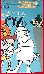 Return to Oz MGM UA VHS