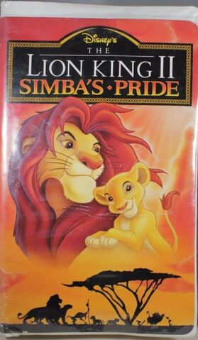 File:The Lion King II 1998 VHS.JPG
