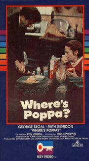 Where's poppa key video vhs front