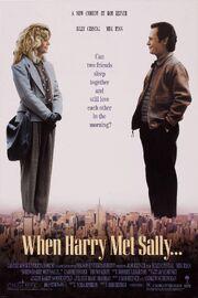 1989 - When Harry Met Sally Movie Poster