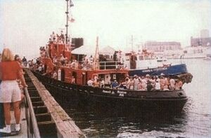 1987 - 'Russell Junior the Bay State Towing Tug'