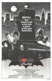 1979 - Love at First Bite Movie Poster