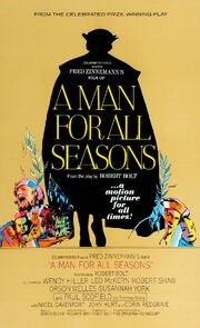 1966 - A Man for All Seasons Movie Poster