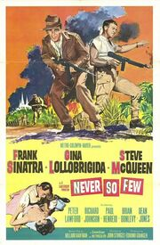 1959 - Never So Few Movie Poster