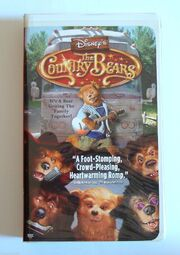 The Country Bears VHS