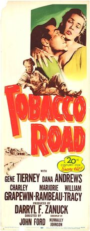 1941 - Tobacco Road Movie Poster