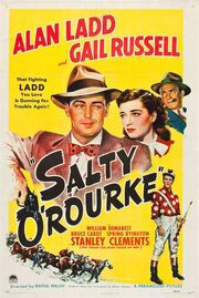1945 - Salty O'Rourke Movie Poster
