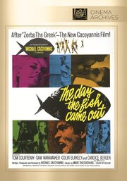 1967 - The Day the Fish Came Out DVD Cover (2012 Fox Cinema Archives)