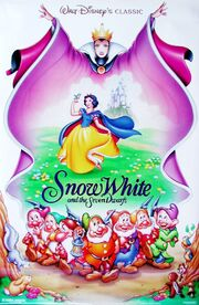 Snow White & The Seven Dwarves (1937) 1993 Re-Release by John Alvin