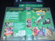 The Wiggles Wiggly Safari Australian VHS