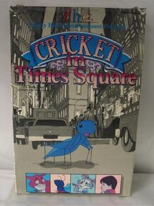 Cricket in times square vhs