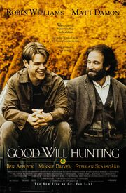 1997 - Good Will Hunting Movie Poster