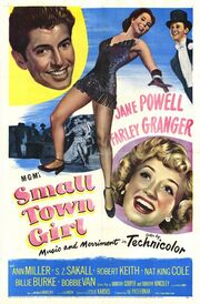 1953 - Small Town Girl Movie Poster