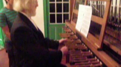 Jo Haazen teaching at Royal Carillon School Jef Denyn Mechelen