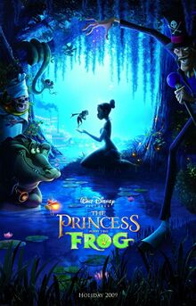 Princess and the frog xlg