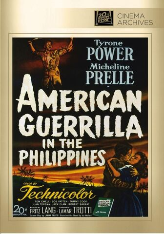 File:1950 - American Guerrilla in the Philippines DVD Cover (2013 Fox Cinema Archives).jpg