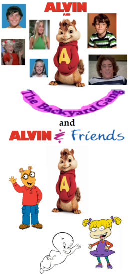 Alvin & The Backyard Gang and Alvin & Friends