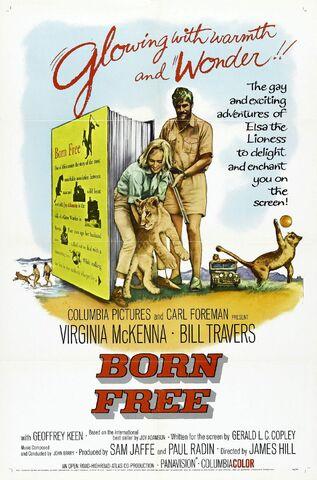 File:1966 - Born Free Movie Poster.jpg