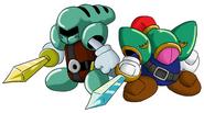 SwordKnight&BladeKnight-Kirby