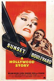 1950 - Sunset Boulevard Movie Poster