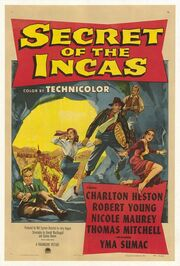 1954 - Secret of the Incas Movie Poster