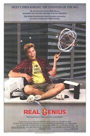 1985 - Real Genius Movie Poster