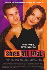 1999 - She's All That Movie Poster
