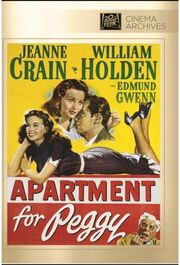 1948 - Apartment for Peggy DVD Cover (2013 Fox Cinema Archives)