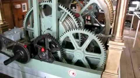 Sint Romboutstoren Mechelen Malines uurwerk kamer