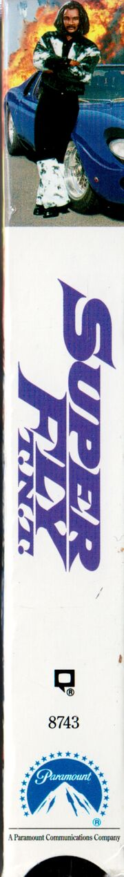 Super Fly TNT 1993 VHS (Spine Cover)