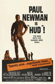 1963 - Hud Movie Poster