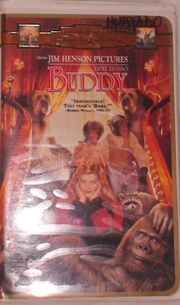 Buddy VHS Video Movie