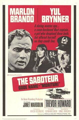File:1965 - Morituri Movie Poster.jpg