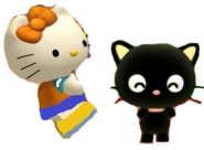 Mimmy and Chococat