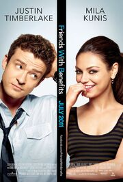2011 - Friends with Benefits Movie Poster