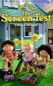 Cabbage patch kids the screen test vhs