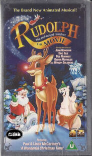 Rudolph the red nosed reindeer the movie uk vhs