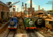 Thomas, Percy and Old Slowcoach